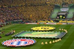 Das erste Mal live beim DFB-Pokalfinale